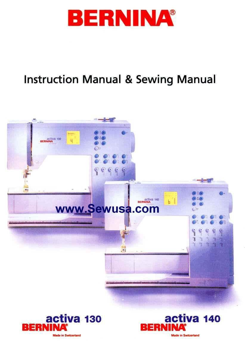 Bernina instruction manuals wpe26g 65956 bytes fandeluxe Images