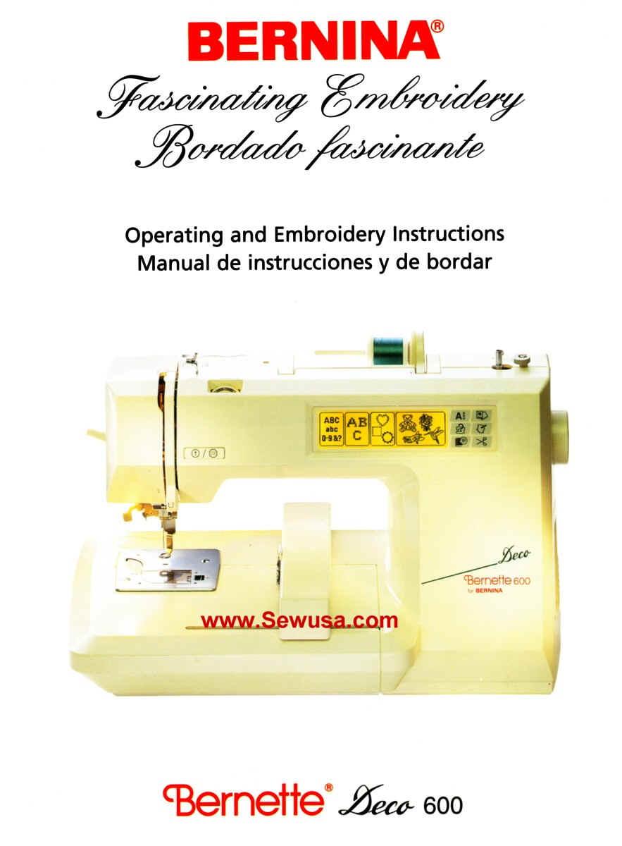 Bernina 600 Deco Instruction Manual, wpe49.jpg (72354 bytes)