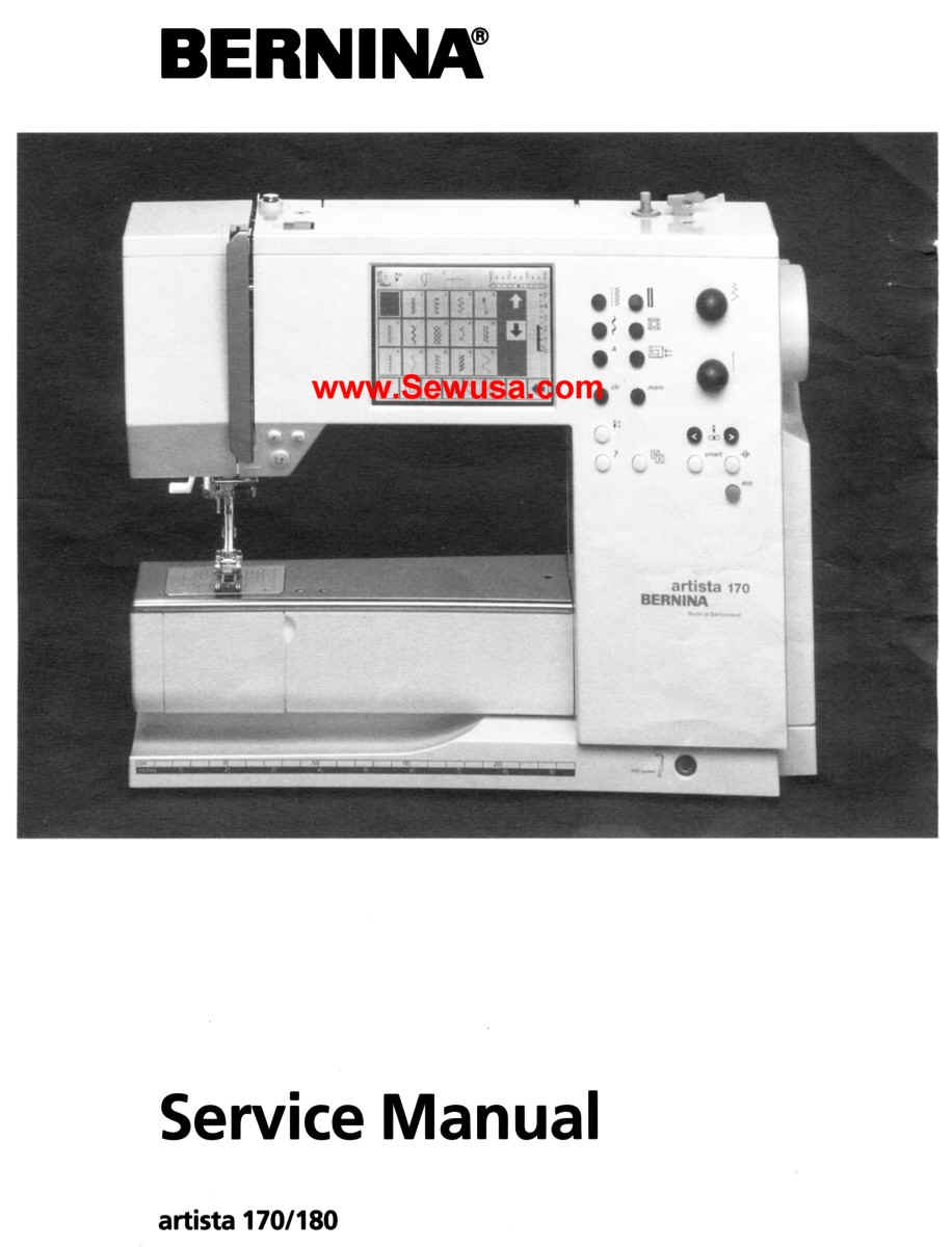 bernina sewing machine service manuals rh berninamanuals com bernina artista 180 manual online free bernina artista 180 manual pdf