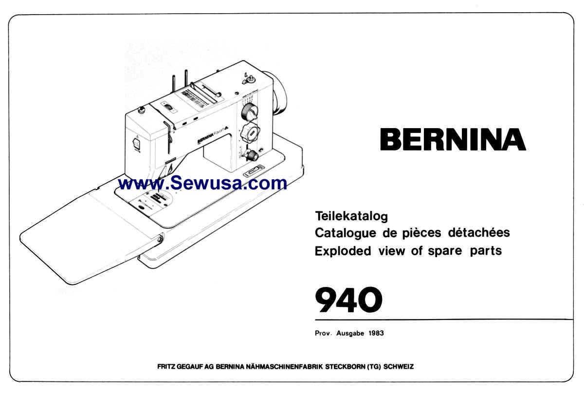 Bernina Sewing Machine Service Manuals Sewusa Threading Diagrams Wpecd 64618 Bytes